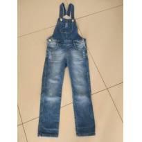 jardineira jeans fuzarka - 6 anos - Fuzarka