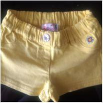 Short Amarelo Chicco - 12 a 18 meses - Chicco