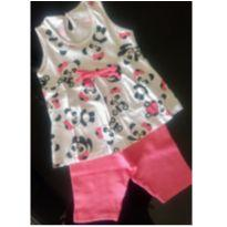 Pijama Verão Ursinha Panda - 1 ano - Have Fun