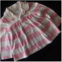 Camisa Listrada Polo Ralph Lauren - 9 meses - Ralph Lauren