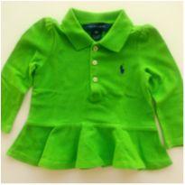 Polo Ralph Lauren Maçã Verde - 9 meses - Ralph Lauren