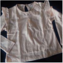 Camiseta Manga Longa Zara - 24 a 36 meses - Zara Baby