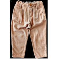 Calça Veludo Zara - 18 a 24 meses - Zara Baby