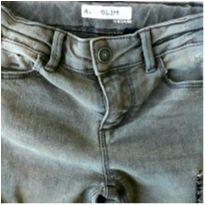 Calça Jeans  Cinza Kiabi Skinny linda! - 4 anos - Kiabi