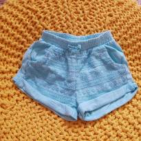 Shorts verde água - 6 a 9 meses - Zara Baby