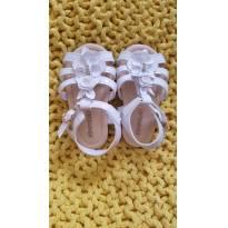 Sandália branca Pimpolho - 18 - Pimpolho