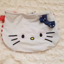 Calcinha de biquini Hello Kitty - 9 a 12 meses - Não informada
