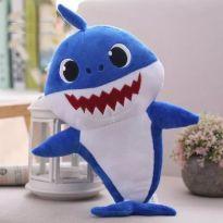 Baby Shark Pelúcia Azul