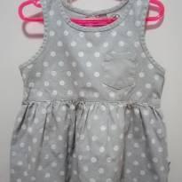 Vestido Hering poá - 2 anos - Hering Baby
