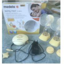 Bomba elétrica dupla de tirar leite Medela -  - Medela