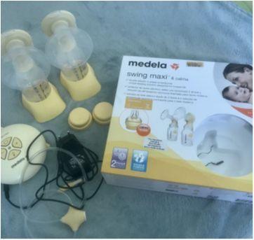 Bomba elétrica dupla de tirar leite Medela - Sem faixa etaria - Medela