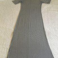 Vestido longo gestante - M - 40 - 42 - Marfinno