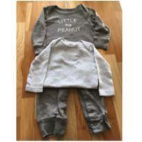 Macacao e body carters 6m - 6 meses - Carter`s