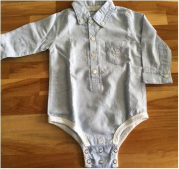 Body camisa - 6 meses - Emporio Baby  e outro