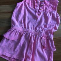 Macaquinho rosa verao - 18 a 24 meses - Zara