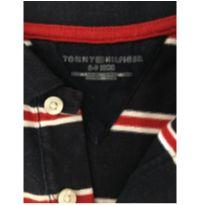 Camiseta polo tommy - 6 a 9 meses - Tommy Hilfiger