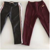 Kit de calças girl 2 anos - 2 anos - Diversas