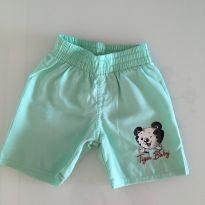 Shorts tactel 12 meses - 9 a 12 meses - Tigor Baby