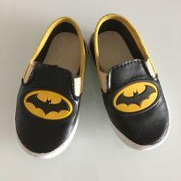 Slip on baby batman tam 22 - 22 - Sem marca
