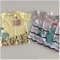 Camisetas baby 12 meses - 9 a 12 meses - Diversas