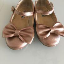 Sapatilha tam 23 bronze - 23 - Fun Shoes