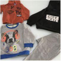 Blusas babyboy 12 meses - 9 a 12 meses - Diversas e Teddy Boom