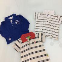 camisetas polo 9 meses - 9 meses - Chicco e PUC