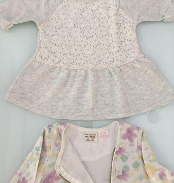 mini veste e jaqueta floral 18 meses - 12 a 18 meses - Carter`s e Zara