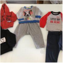conjunto e blusas tam 1 - 1 ano - Carter`s e Zara