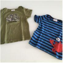 Camisetas carters 24 meses - 18 a 24 meses - Carter`s