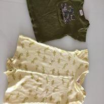Romper e camiseta 24 meses - 18 a 24 meses - Carter`s e Zara