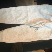 Calça de Moletom - Cinza - 24 a 36 meses - Não informada