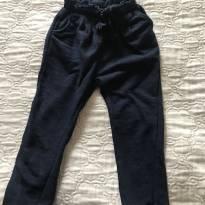 Calça em moletom - Azul Marinho - 3 anos - Zara