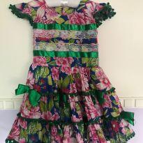 Vestido Junino - 3 anos - Sem marca