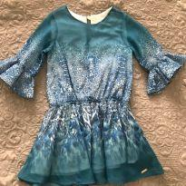 Vestido Azul 1+1 - 2 anos - 1+1