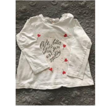 Camiseta ZARA manga longa - 3 anos - Zara