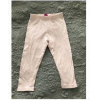 Calça legging  - Rosa Bebê - 18 a 24 meses - Sem marca