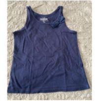 Regatinha Azul Marinho com Laço - 4 anos - OshKosh