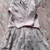 Vestido Carters - Rosa Bebê - 4 anos - Carter`s