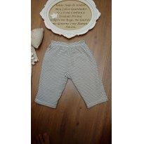 Calça Forrada Baby Gap dupla face TAM 6 meses - 6 meses - Baby Gap