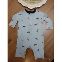 Macacão Ralph Lauren Azul Aviões - Tam 6 meses - 6 meses - Ralph Lauren