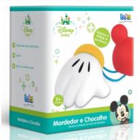 Mordedor Chocalho Mickey Mouse - Sem faixa etaria - Disney baby
