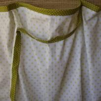 Capa para Amamentação Bolinhas Verde - Sem faixa etaria - Não informada