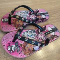 Chinelo Grendene Monster High 25/26 - 25 - Grendene