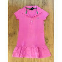 Vestido Rosa Ralph Lauren Tam 5 - 5 anos - Ralph Lauren