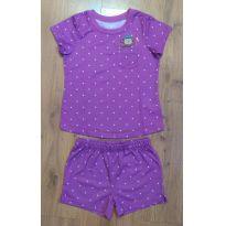 Pijama Roxo Carter`s Tam 4 - 4 anos - Carter`s