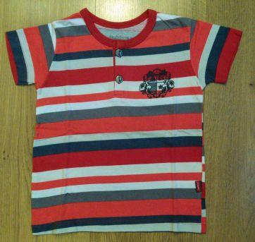 Camiseta Listrada Carinhoso Tam 2 - 2 anos - Carinhoso