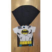 Camiseta com Capa Batman DC COMICS - 12 a 18 meses - 12 a 18 meses - DC Comics