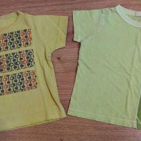 Dupla de Camisetas Green - 18 meses - 18 meses - Green