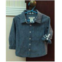 Camisa Jeans Cherokee 18 meses - 18 meses - Cherokee